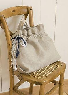 第54回 リネンの2WAYバッグ スタディオクリップ・手作り雑貨の作り方