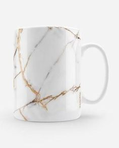 MDTTA-MG0005-White Onyx Marble Mug by Madotta - R