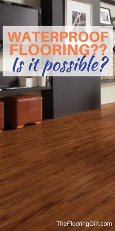 What is Luxury Vinyl Plank Flooring? Pros and Cons of LVP and EVP. Is it waterproof?. | The Flooring Girl
