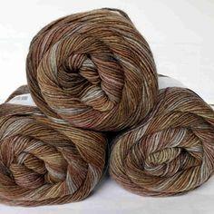 Jawoll Magic 6-fach grau-braun Wolle v. Lang Yarns - Heikes Handgewebtes: Traumhafte Wolle für Socken und noch viel mehr - dreamlike wool for socks and much more
