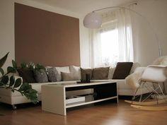 Wohnzimmer Streichen Ideen Braun #2