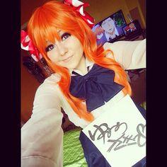 My cosplay room seflie as Chiyo Sakura, from Gekkan Shoujo Nozaki-kun 。◕‿◕。 Gekkan Shoujo Nozaki Kun, Kawaii Cosplay, Manga, Otaku, Doodle, Disney Characters, Fictional Characters, Aurora Sleeping Beauty, Sisters