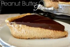 ~Peanut Butter Cup Pie! | Oh Bite It