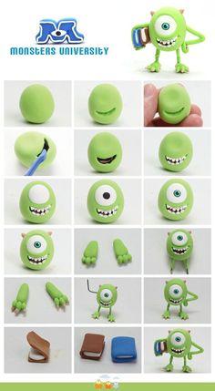 Şeker Hamurundan Yapılmış Çizgi Film Karakterleri ~ Yeşil Parmak