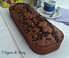 Plum-cake soffice al nesquik e gocce di cioccolato ricetta senza burro