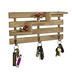 Rustic Brown Wood Slatted Wall Mounted Storage Rack w/ 3 Stair Step Style Shelves & 3 Hanger Key Hooks MyGift http://www.amazon.com/dp/B00SG8UJFO/ref=cm_sw_r_pi_dp_b.hywb0J4MWYM