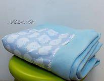 Úžitkový textil - Deka Hrošíci - 4856088_