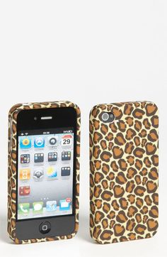 Design Lab 'Matte Leopard' iPhone 4 & 4S Case available at #Nordstrom