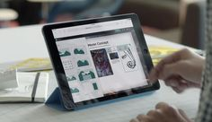 Binnenkort brengt Microsoft een nieuwe app, Sway, uit waarmee het eenvoudiger moet zijn een online presentatie in elkaar te knutselen.