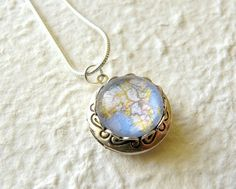 Map Locket Small  Pick Your City The ORIGINAL by TheGreenDaisyShop, $22.00