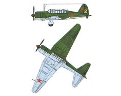 WWII Sukhoi Su-2 Light Bomber Free Aircraft Paper Model Download