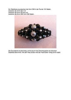 Beaded ball by Hedi