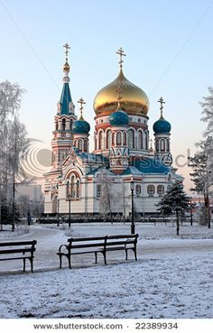 Dormition. Omsk, Russia