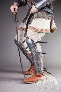 Medieval Rus Greaves Leg Armour