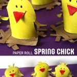 PAPER+ROLL+SPRING+CHICK