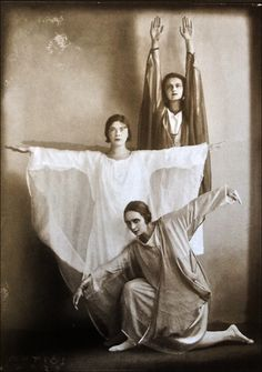 Anton Josef Trčka -Danseurs du groupe Eurythmie, 1926