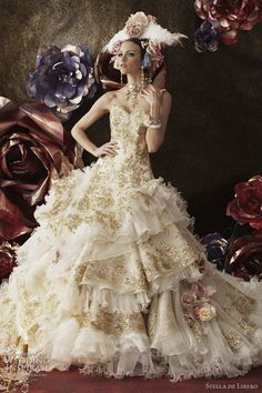 Haute Couture Wedding Dresses by Stella de Libero