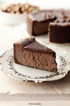 hazelnut + milk chocolate cheesecake