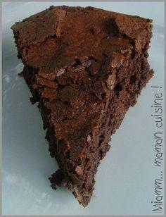 Gâteau fondant et craquelé au chocolat Julie Andrieu