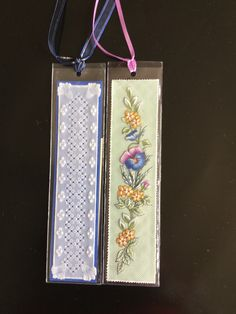 Bookmarks crafted by Miss Jilly.