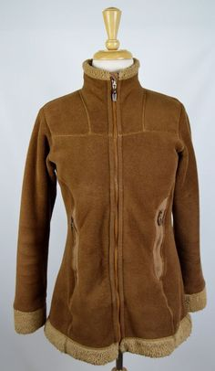 Patagonia Synchilla Women's Size Small Brown Fleece Jacket #Patagonia…