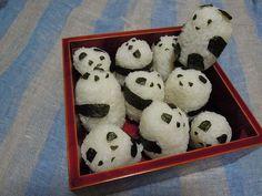 panda rice balls! 팬더 주먹밥 ㅋ