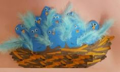 Bird Nest Craft Children of all ages will enjoy one of our favorite spring crafts for kids- a sweet little nest and baby bird craft! Even my toddler enjoyed creating these cute, little baby chicks! Free Preschool, Preschool Worksheets, Preschool Crafts, Bird Nest Craft, Bird Crafts, Spring Crafts For Kids, Baby Chicks, Little Babies, Coloring Pages