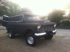 1955 CHEVROLET PANEL TRUCK 4X4  /CALIFORNIA CLASSIC