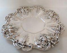 "Reed Barton Francis I Sterling Silver 11 5"" Sandwich Tray Lovely 1955 X569 | eBay"