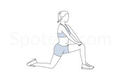 The hip flexor is a group of several muscles that allow you to bend at the waist and lift your knees. Since we spend a lot of time sitting down, those muscles are often tight and may even be shortened. Stretching your hip flexors properly and regularly keeps your hips and lower back strong, flexible and well aligned. http://www.spotebi.com/exercise-guide/hip-flexor-stretch/