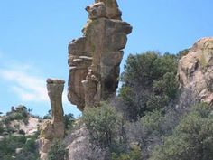 Mount Lemmon, Tucson.  Home of the many Sky Island rock formations on the way to the top.