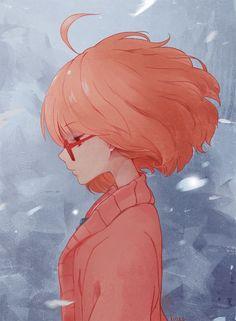 Anime Beyond the Boundary Kyoukai No Kanata Mirai Kuriyama Mobile Wallpaper Kyoani Anime, Deku Anime, Film Anime, Fanarts Anime, Sad Anime, Anime Characters, Anime Art, Mirai Kuriyama, Hirunaka No Ryuusei