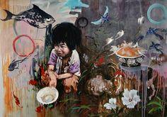 """Hung Liu - """"Hard Times"""""""