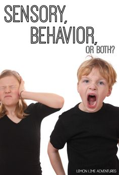 Is It Sensory Behavior or Both? Expert advice and resources to answer that question! What a great resource for parents and teachers!