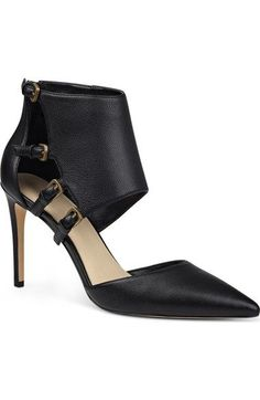 'Trust Me' Ankle Cuff Pointy Toe Pump (Women) - product images  of