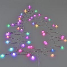 1341a418463  in.tec ® Guirnalda de bolas LED - 50 LED (12
