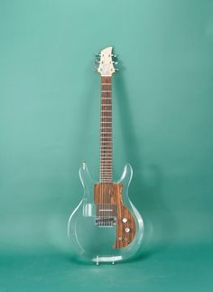 """Another dream Dave Grohl guitar: 2002  Ampeg Lucite """"Clear"""" Dan Armstrong"""