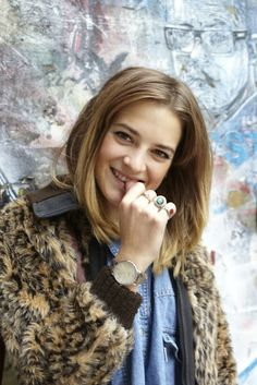 Fashion Daydreams: Timex Style of the Times street style shoot