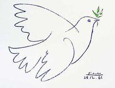 Tatuajes de la paloma de la paz