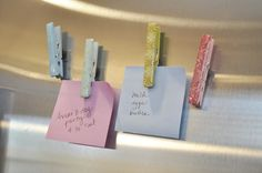 cute idea for magnets