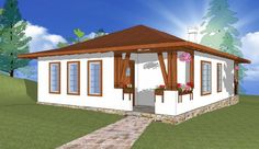 Sunt frumoase proiectele de case tradiționale românești concepute de arhitectul Adrian Păun | Adela Pârvu - Interior design blogger Case, Traditional House, Romania, Gazebo, Outdoor Structures, Interior, Design, Kiosk, Indoor
