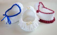 Mamma Eso hace: Crochet Moisés Basket patrón gratuito