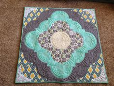 Quilting Together: Mindy's Medallion HMQS AdornIt Challenge 2nd Place Winning Quilt