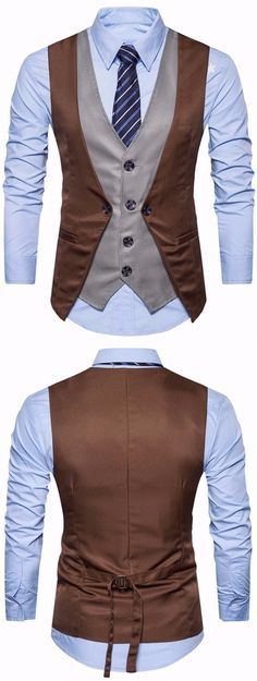 men suits style -- Click Visit link for more info Suit Fashion, Mens Fashion, Fashion Outfits, Sharp Dressed Man, Well Dressed, Waistcoat Men, Herren Style, 3 Piece Suits, Suit And Tie