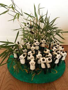 Traktatie snoep panda's