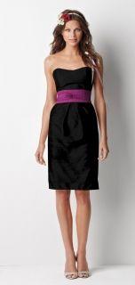 Watters Style 8459 Bridesmaid Dress in Black
