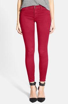J Brand Zip Hem Crop Jeans available at #Nordstrom
