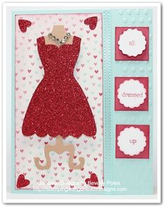 Stampin Up All Dressed Up and Dress Up Framelits by guneauxdesigns - Cards and Paper Crafts at Splitcoaststampers