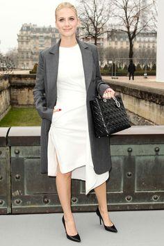 Mélanie Laurent _1er mars : le premier rang du défilé Christian Dior.