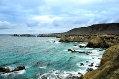 A small island off the coast of Puerto Lopez in Ecuador - it's like a simpler Galapagos Small Island, Ecuador, Coast, Water, Photography, Outdoor, Islands, Silver, Water Water
